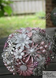 Wedding Brooch bouquet#Repin By:Pinterest++ for iPad#