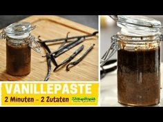 YouTube Vanille Paste, Low Carb, Diy Food, Tart, Food And Drink, Desserts, Recipes, Syrup, Canning