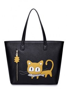 All-match lovely cat print fashi...