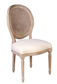 The Napoleon Chair w/ Cane Back - Antique Linen from LH Imports is a unique home decor item. LH Imports Site carries a variety of Continental and other Collections furnishings. Unique Home Decor, Home Decor Items, Napoleon Chair, Small Living Room Chairs, Living Rooms, Rustic Dining Chairs, Cane Back Chairs, Brown Leather Recliner Chair, Patterned Armchair
