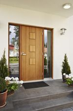 ulko-ovi_M8T5358 Sliding Doors, Garage Doors, Cottage Fireplace, House Goals, Tall Cabinet Storage, New Homes, Windows, Outdoor Decor, Inspiration