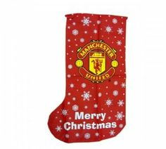 Manchester United Fc Football Xmas Stocking 1m Official Christmas by Manchester United. $13.10. Product Measurements:- 100 x 50 cm 39.4 x 19.7 Inch Official Licensed Product