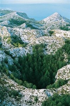 View of nature Nature Park Biokovo, Croatia Heart made with birds in the sky how cool is this I love it