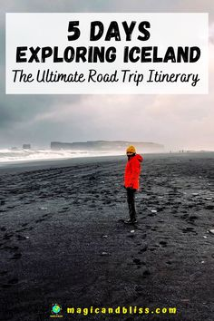 Iceland is the perfect adventure travel destination for you. It is still considered an off-beat travel destination by many. It is the ultimate destination for lots of adventure, road trips and scenic landscapes. Read more on my blog for a detailed 5 day Iceland road trip itinerary, what to pack for Iceland, travel tips and 15+ things to do in Iceland. | Future Travel Inspiration | Off the Beaten Track | #iceland #icelandtravel #offbeattravel Iceland Travel Tips, Iceland Road Trip, Europe Travel Tips, European Travel, Travel Abroad, Road Trip Packing, Road Trip Hacks, Road Trips, Europe Destinations
