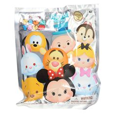 These are the Disney Tsum Tsum Series 1 Blind Bag Figure Keychains. They are produced by Monogram and they're super popular and fantastic! Each unit purchased is for 1 randomly assorted character blin