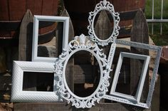 PICTURE FRAMES   Shabby Chic  Frames   Collection Of Ornate Picture Frames