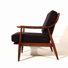 Danish Lounge Chairs by Peter Hvidt & Orla Mølgaard-Nielsen image 7