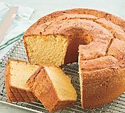 Sour Cream Pound Cake with Rum Glaze Recipe | MyRecipes.com