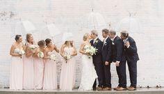 foto de casamento na chuva