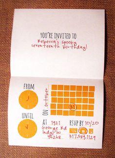 Printable DIY Halloween Invitation. $5.00, via Etsy.