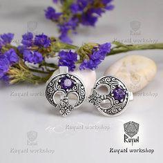 Lunula ring. Viking jewelry. Slavic jewelry. Moon Crescent