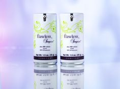 Our new Flawless BB cream. Hydrates, conceals, and primes and SPF provided.