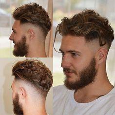 "3,065 Likes, 51 Comments - MENS HAIR STYLES & BEARDS (@menshairworld) on Instagram: ""@iranthebarber - #MENSHAIRWORLD """