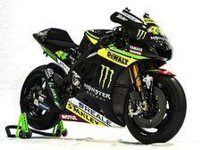2016 Monster Yamaha Yzr M1 Tech 3