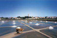 Les marais salants de  Noirmoutier. Vendée