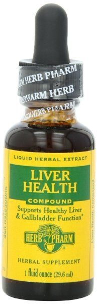 Herb Pharm Healthy Liver Tonic Mineral Supplement, 1 Ounce:Amazon:Health & Personal Care