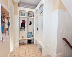 Homey Traditional Foyer by Ken Kelly, CKD, CBD, CR