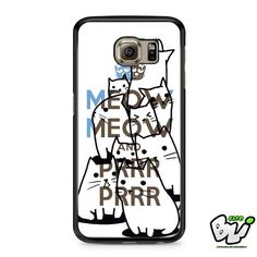 Keep Meow Meow Samsung Galaxy S7 Case