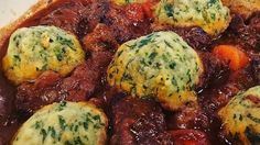 Phil Vickery's succulent braised beef with horseradish dumplings