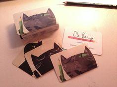 Ella Bailey Illustration business cards