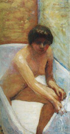Bathing. Bonnard