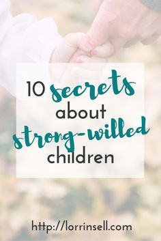 Raising a strong willed child is no joke. Here are some things I have learned while raising our strong willed child.