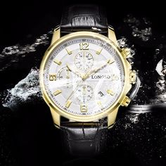 LONGBO Watch Stainless Steel Date Waterproof Luminous Sports Watch is hot-sale, stainless steel watch, sport watches for men, and more other cheap mens watches are provided on NewChic. Sport Watches, Cool Watches, Watches For Men, Citizen Watches, Luxury Watches, Rolex Watches, Ring Watch, Men Necklace, Bracelets For Men