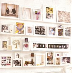 Shadowboxes and frames