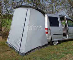 Heckzelt TRAPEZ für Caddy Grundfläche B205xL140cm