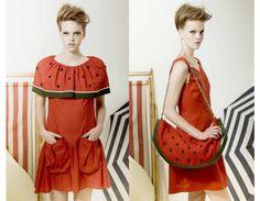 Vivetta watermelon dress SS 2011