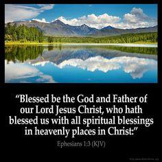 Ephesians 1:3 KJV