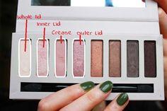 Barry M Super Natural Palette Makeup Look- Daytime