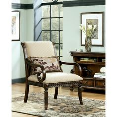 Lilly - Caramel Accent Chair