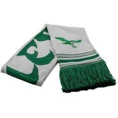Mitchell & Ness Philadelphia Eagles Midnight Green-White Vintage NFL Scarf