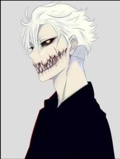 Found this image a long time ago ,forgot the name of it's creator Fantasy Character Design, Character Design Inspiration, Character Art, Creepy Drawings, Dark Art Drawings, Dark Anime Guys, Cool Anime Guys, Fantasy Characters, Anime Characters