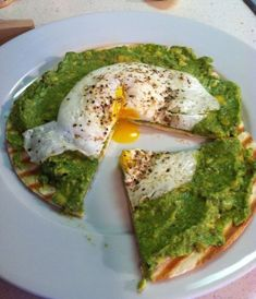 30 Amazing Ways To Make Avocados Even Better Than They Already Are - Avocado Breakfast Pizza