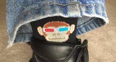 Sock Guy Monkey See 3D Socks Monkey See, Monkey Do. $10.95