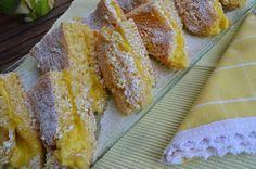 Noz Moscada e Gengibre: Guardanapos com creme de pasteleiro