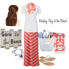 Reading Day at the Beach by beautifully-modest-fashion on Polyvore featuring Cotton Citizen, Sonoma life + style, Ashley Stewart, Gucci, L. Erickson, Echo, Free People and Billabong