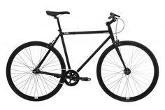 Feral Fixie - Bicicleta para hombre, 55 cm, color negro