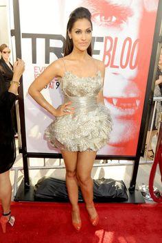 """HBO """"True Blood"""" Season 5 Premiere - Red Carpet: Actress Janina Gavankar"""