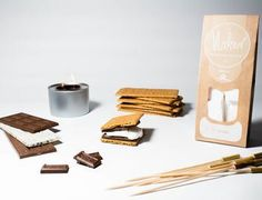 Marshmallow S'mores Kit 100 Cheap Thoughtful Gift Ideas For Her Under £20