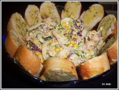 Sałatka kebab z sosem czosnkowym i grzankami - My WordPress Website Dill Potatoes, Pierogi Recipe, Borscht, Polish Recipes, Ham And Cheese, French Food, Potato Salad, Easy Meals, Food And Drink