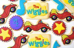 The Wiggles Cookies by Kelley Hart Custom Cookies