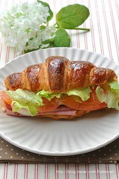 크로와상 클럽샌드위치~ 샌드위치, 샌드위치 만들기 – 레시피 | Daum 요리