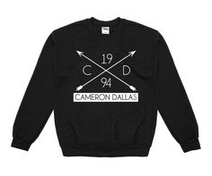 Cameron Dallas Cameron Dallas Arrow '94 Crew Neck Sweatshirt - BLV Brands I WANT
