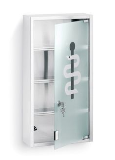NEXIO MEDICINE CABINET WITH EMBLEM by Blomus  @ puremodern.com for $193
