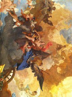 Rococo Painting, Eyes Emoji, Baroque Art, Rococo Style, High Art, Cherubs, 2d Art, William Morris, Aesthetic Art