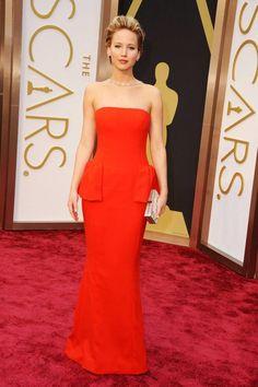 Best Dressed Oscars 2014 - Jennifer Lawrence