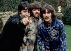 Paul in the video of Blue Jay Way (alternate version)